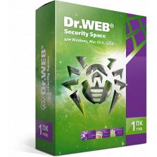 Dr.WEB Security Space 1 ПК / 1 год